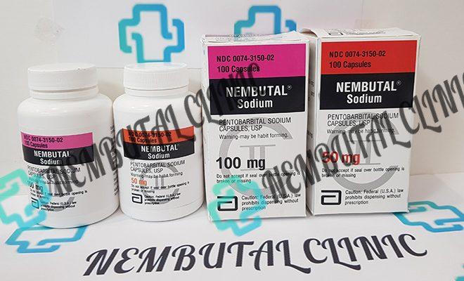 Nembutal pentobarbital sodium pills